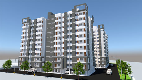 Construction of 240nos Type-II Residential buildings including internal water supply